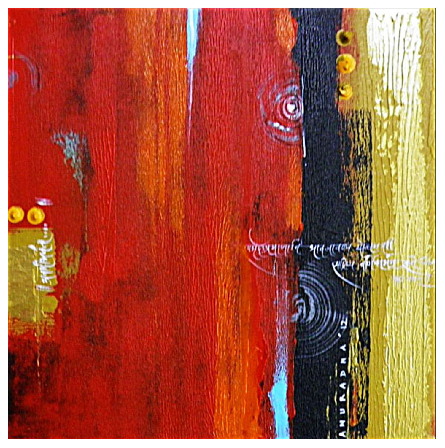 Abstract Indian paintings