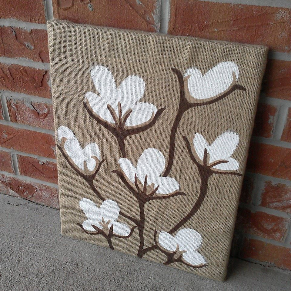 Burlap Paintings