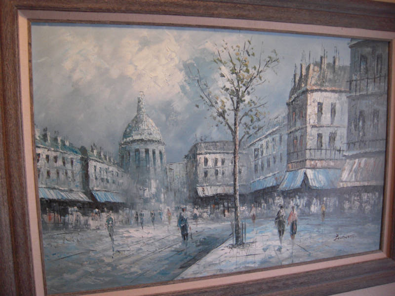 Caroline Burnett paintings