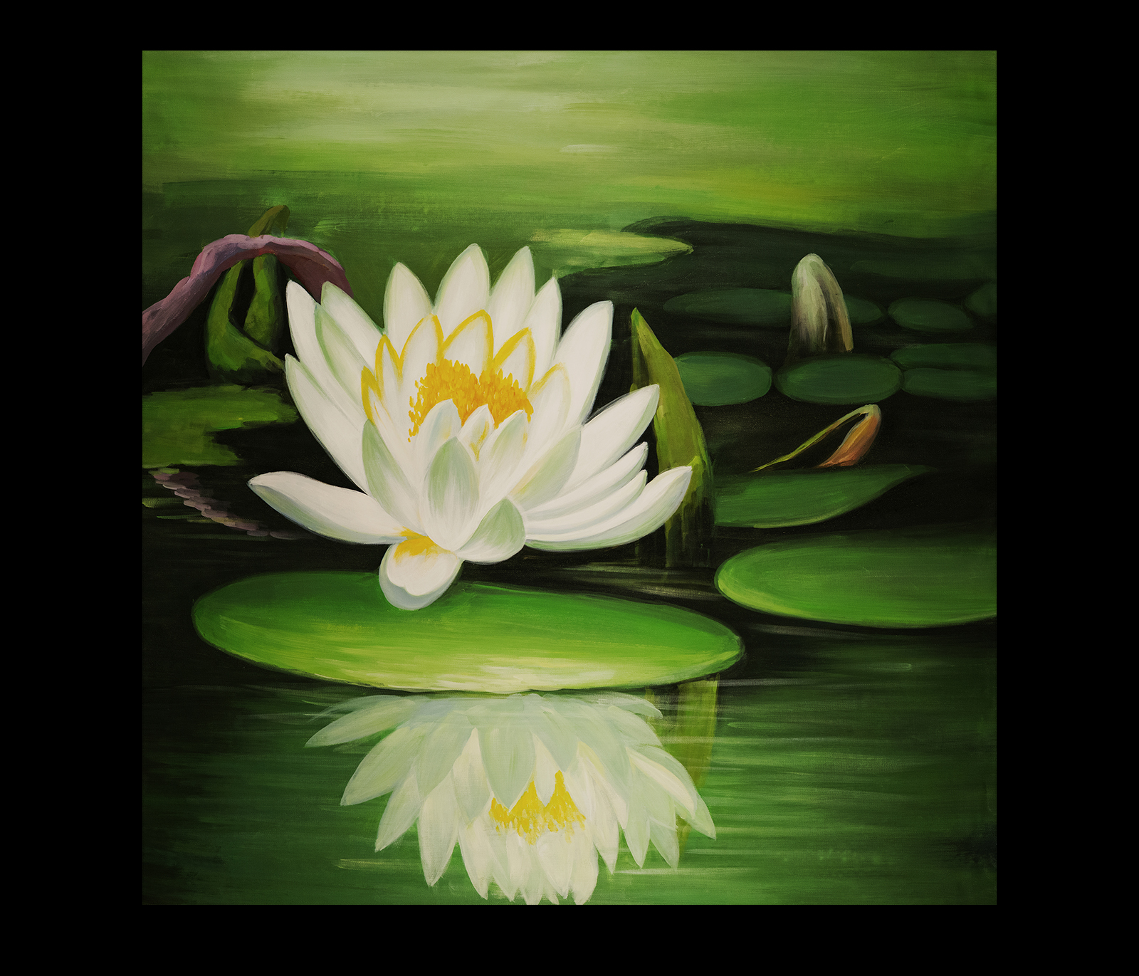 Lotus Flower Paintings