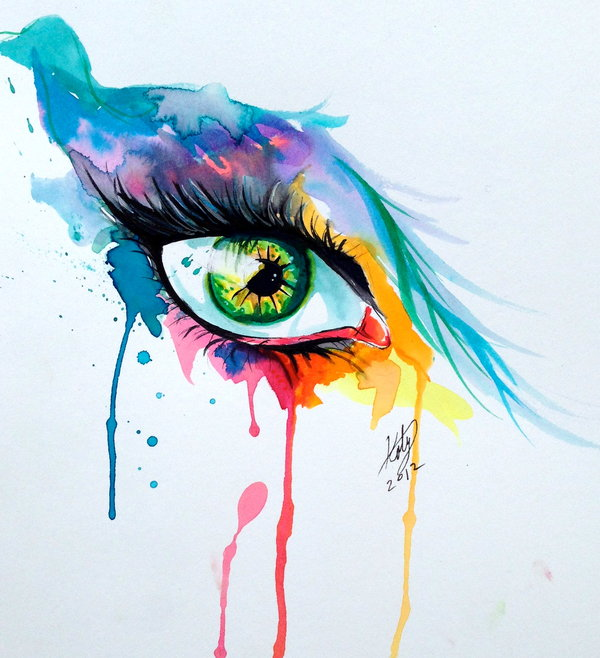 Eye Abstract Paintings