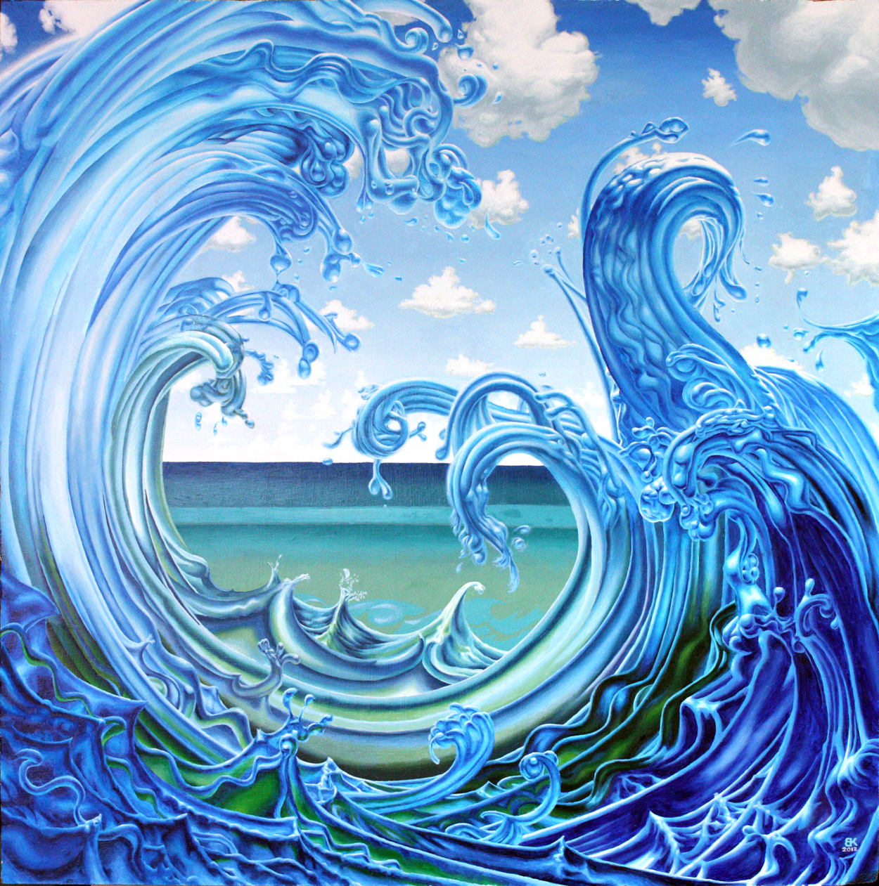 Amazing Water Paintings