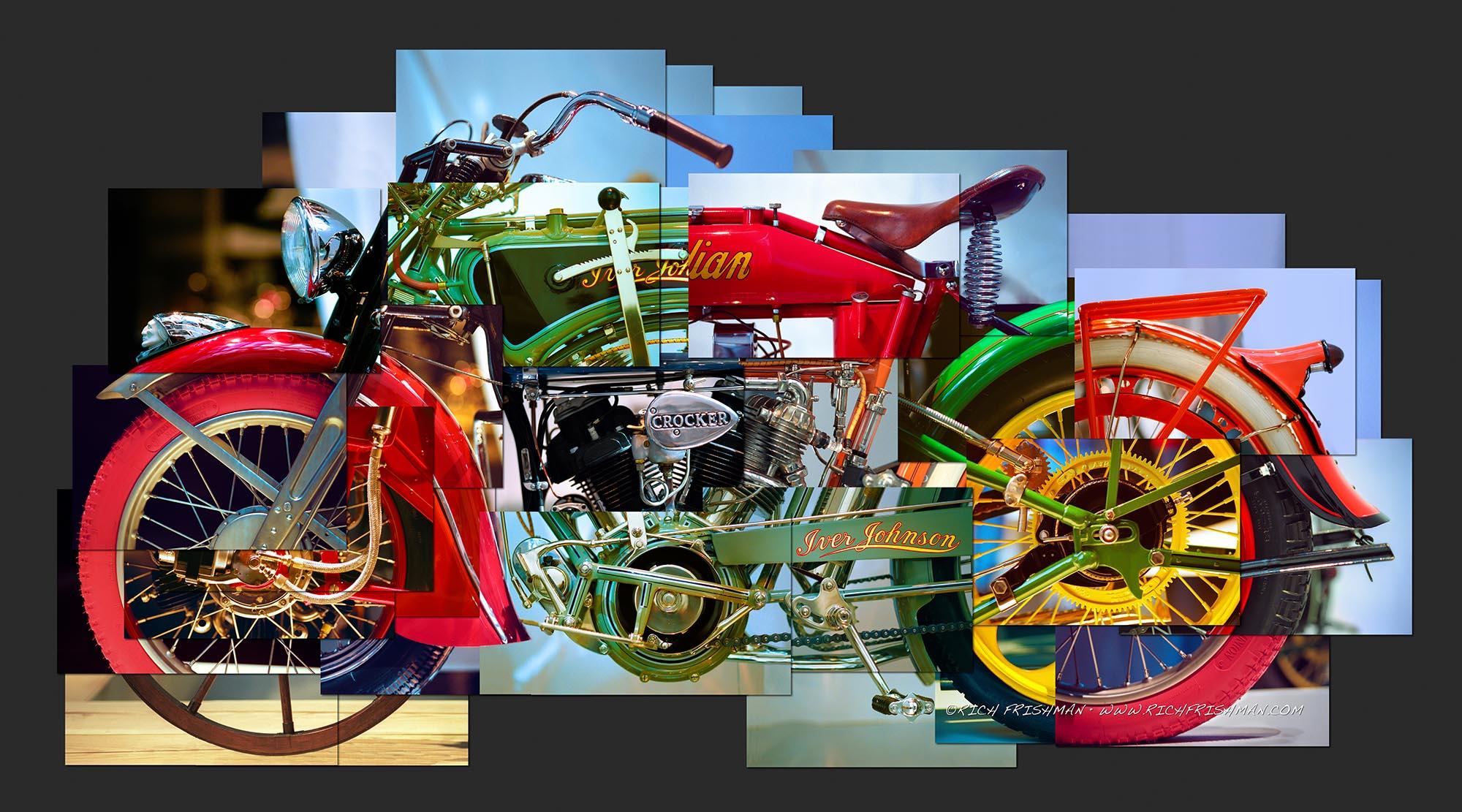 motorcycle artwork paintings bike indian artranked