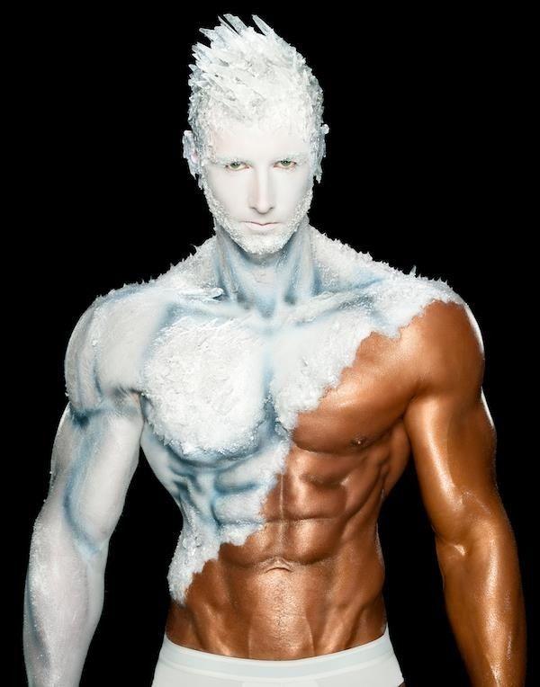 Men Body Paintings