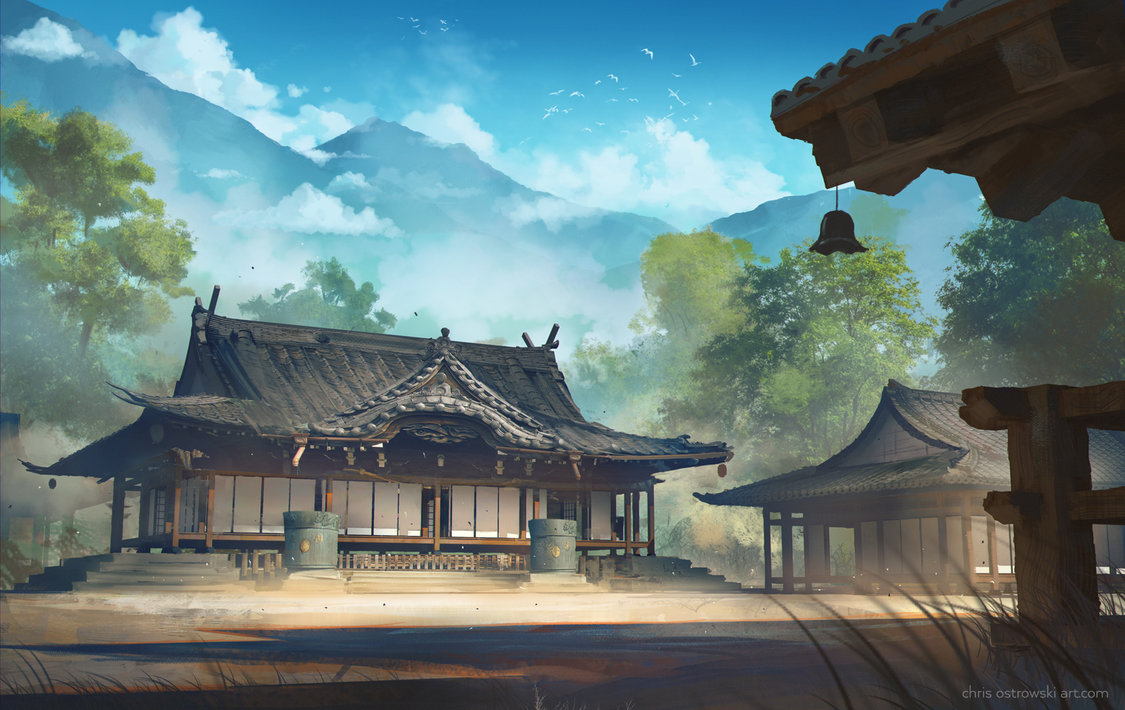 Japanese House Paintings