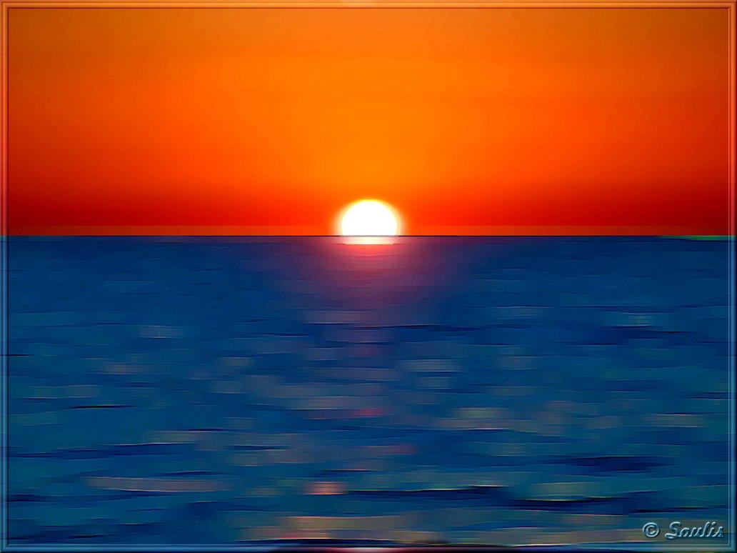 Simple Sunset Paintings