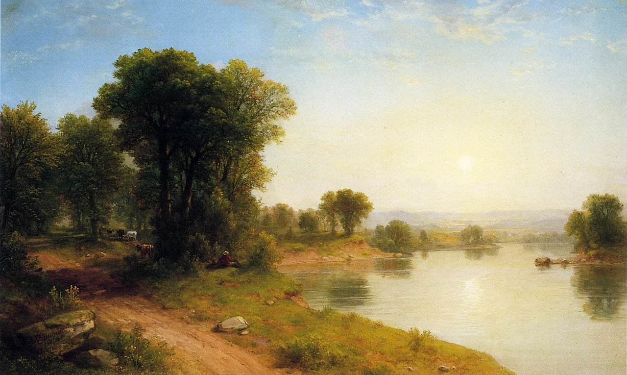 Asher Brown Durand Oil Paintings