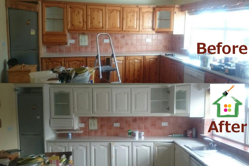 Kitchen Cabinet Paintings