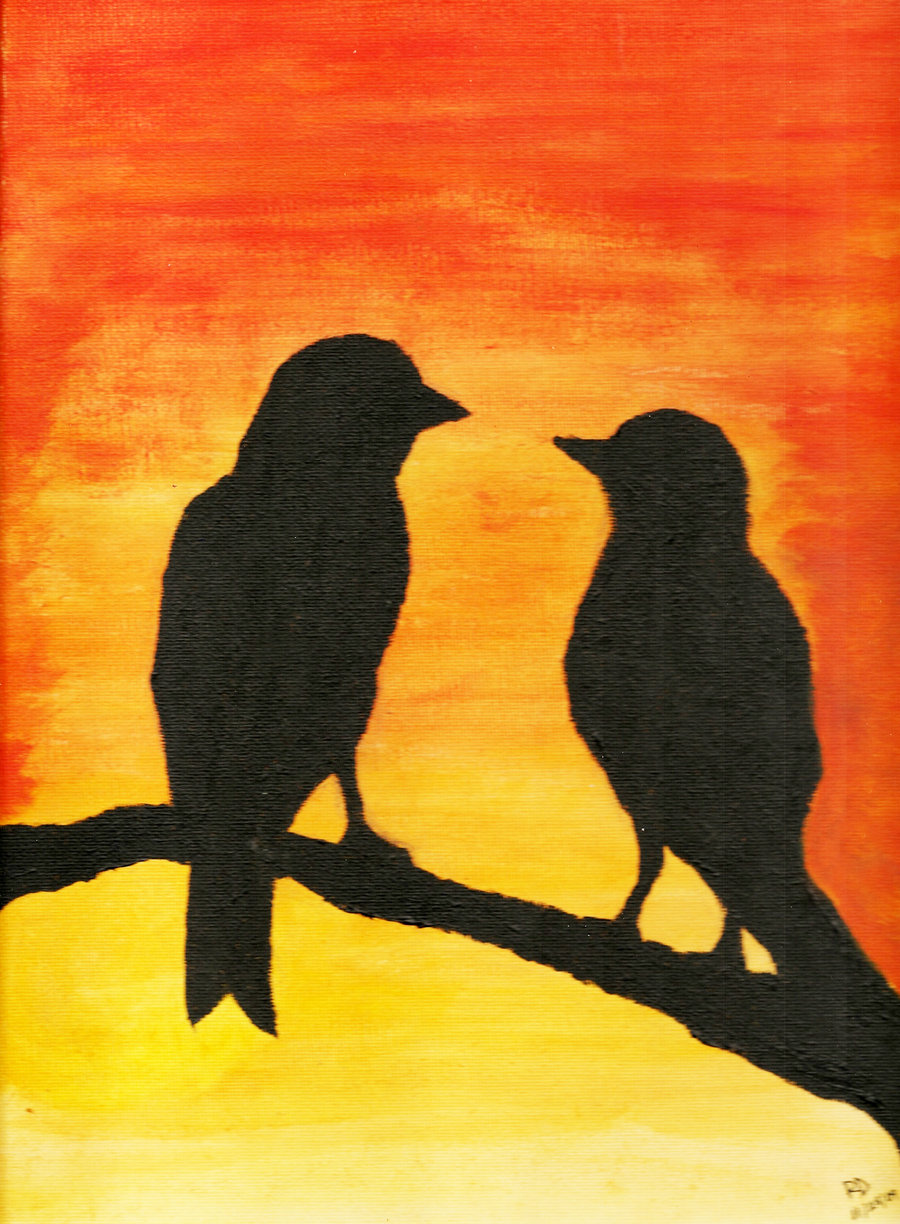 Love Birds Paintings This entry was posted in art and tagged acrylic painting ideas, easy paintings, paint, painting, painting ideas. love birds paintings