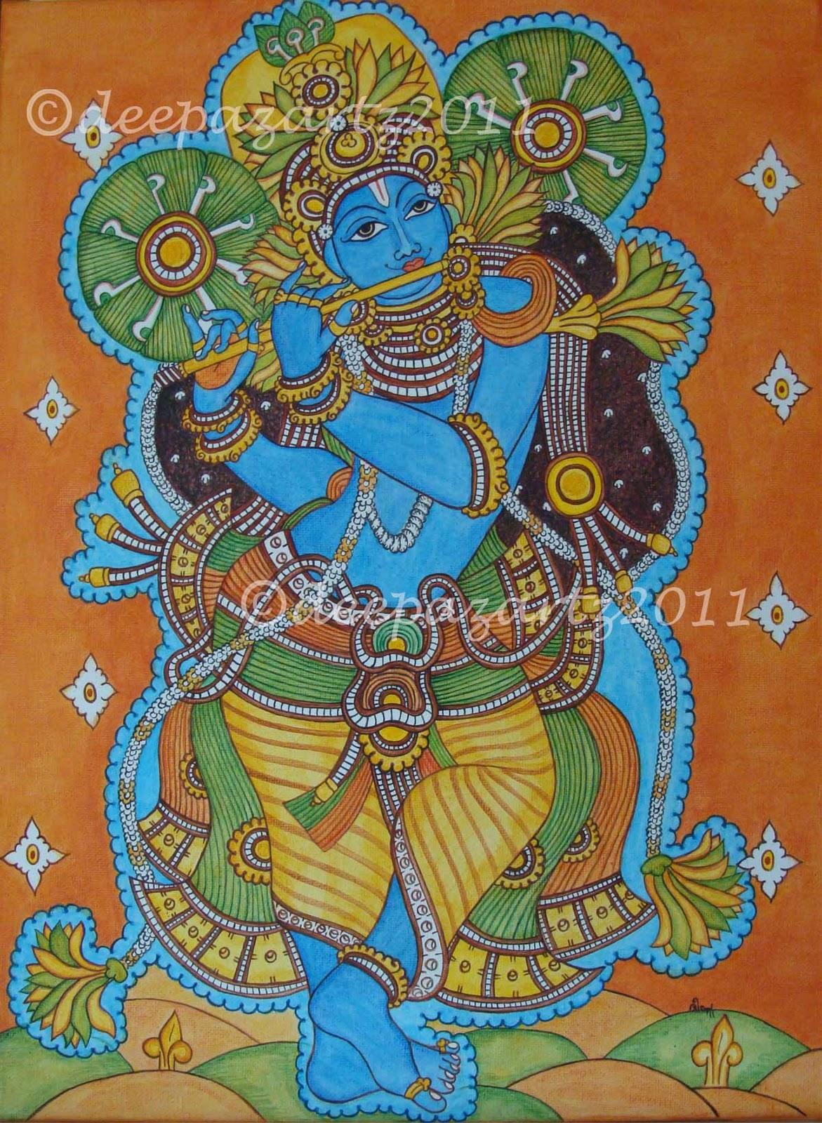 Krishna Mural Paintings