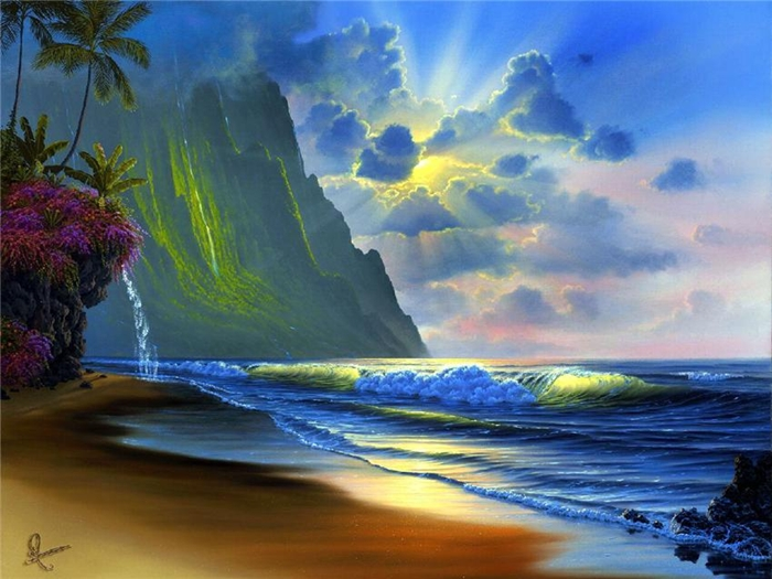 Hawaiian Landscape Paintings