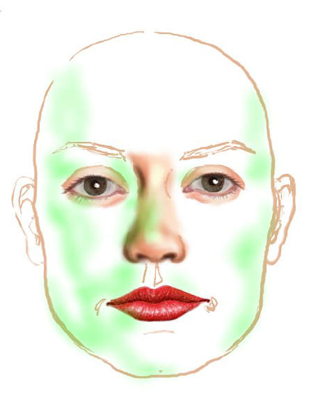 Human Face Paintings