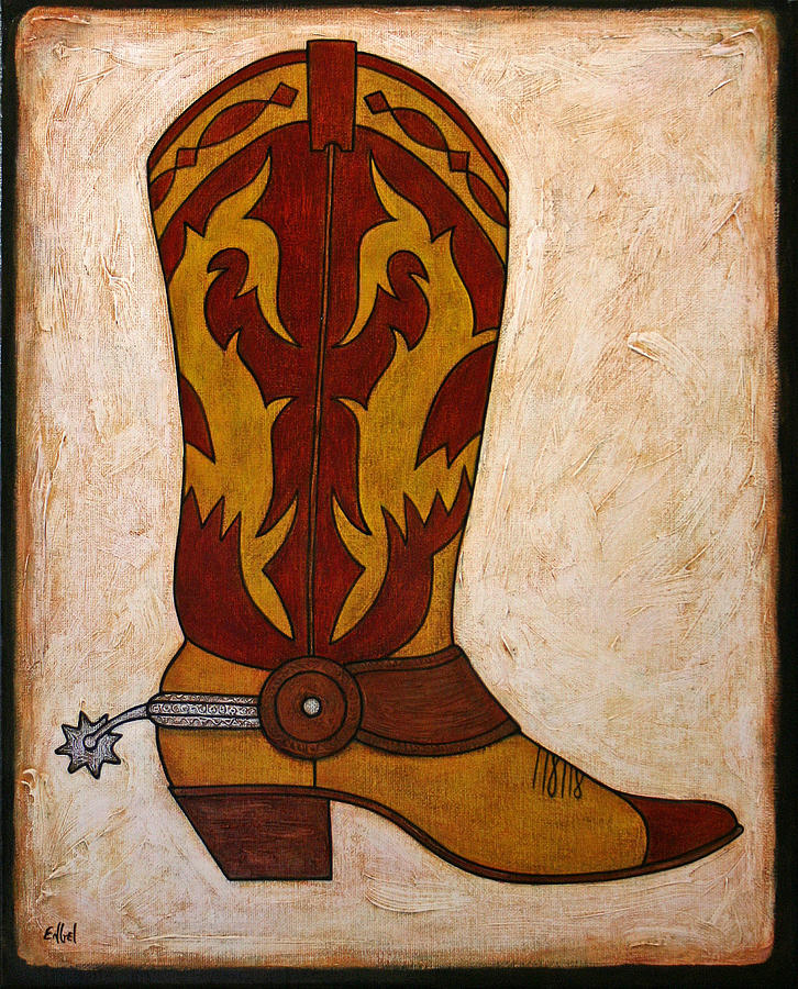 Cowboy Boot Paintings