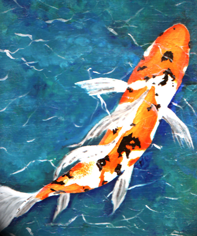 16790ee94afc4 Koi Fish Paintings by Japanese Koi Fish