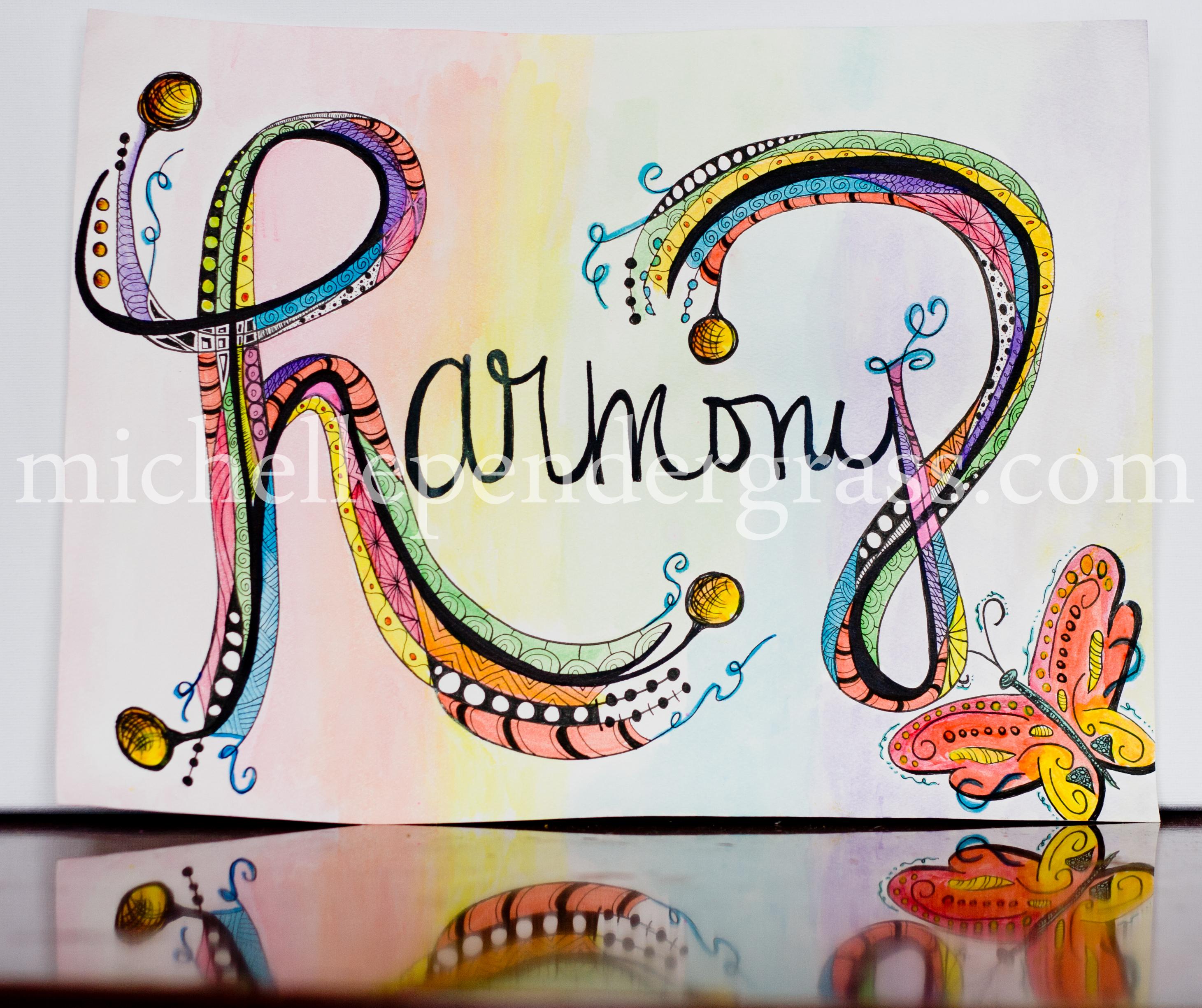 word art paintings