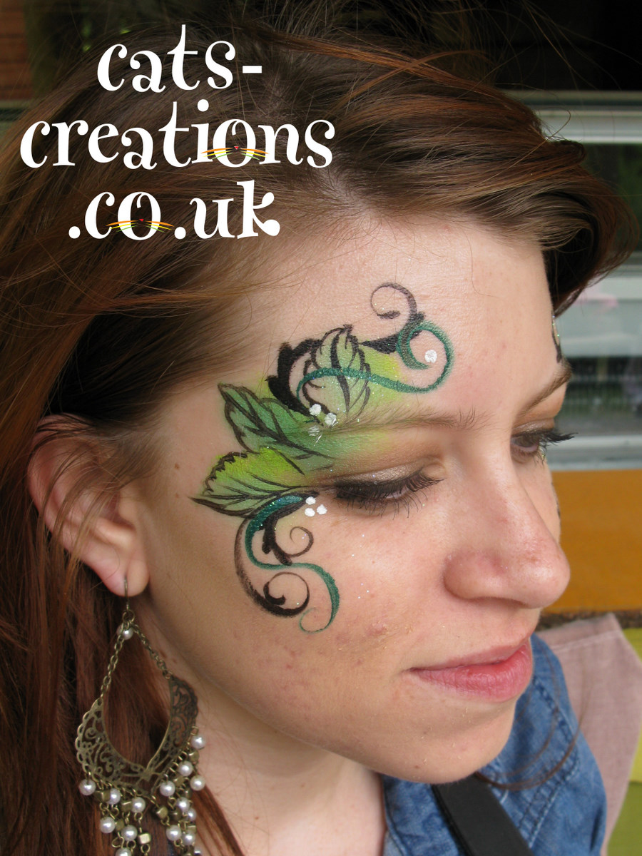 Nature Face Paintings
