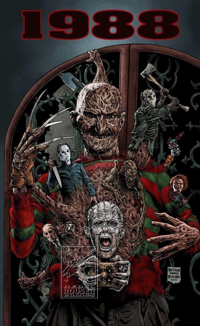 Horror Movie paintings
