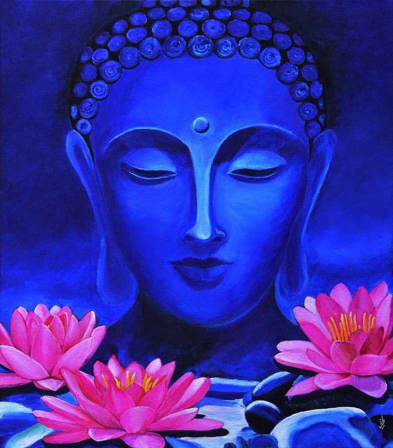 Buddha Lotus Paintings