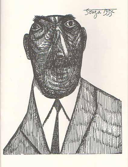 souza paintings drawings