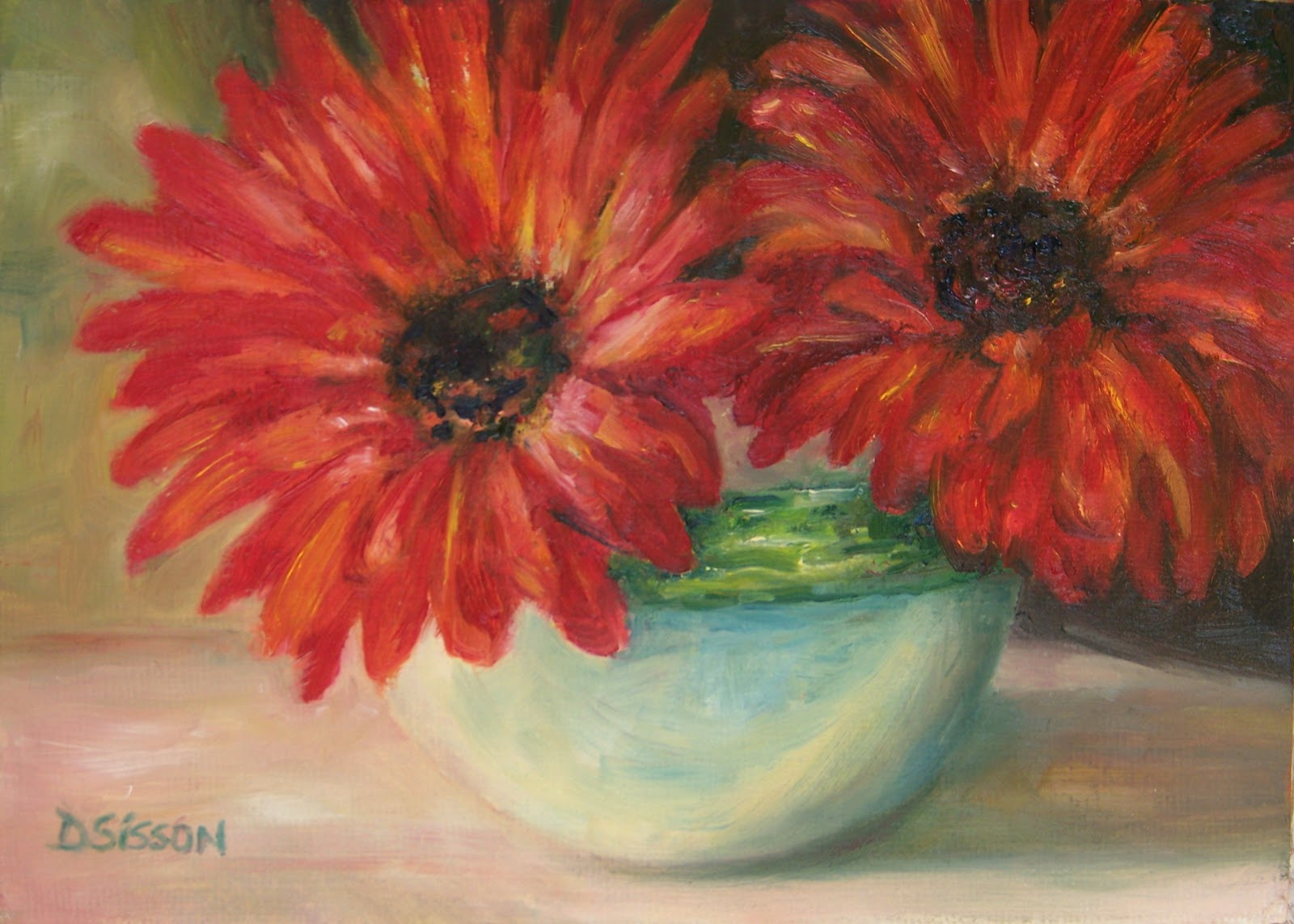 Flower Artists Paintings