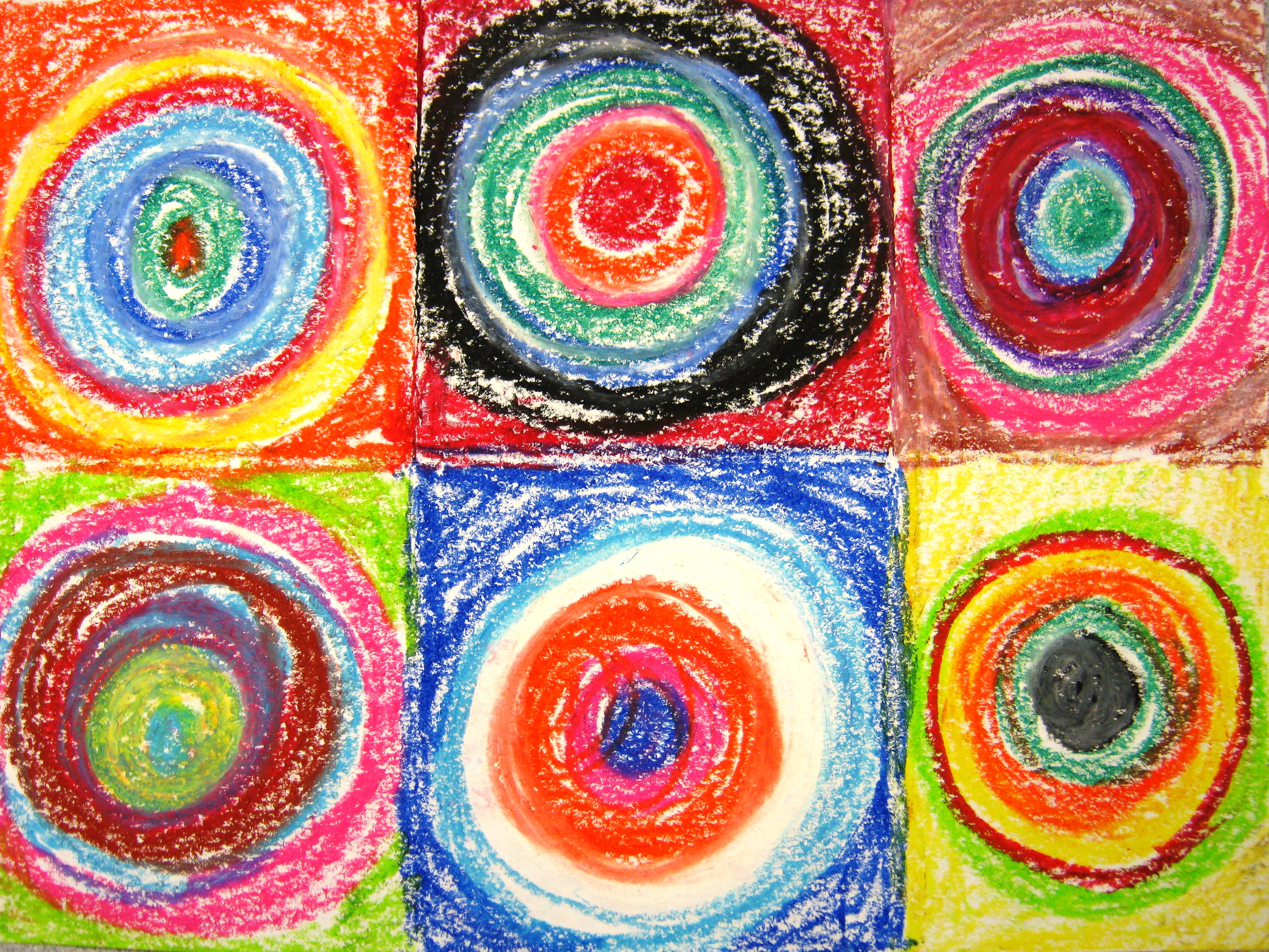 Famous Circle Paintings