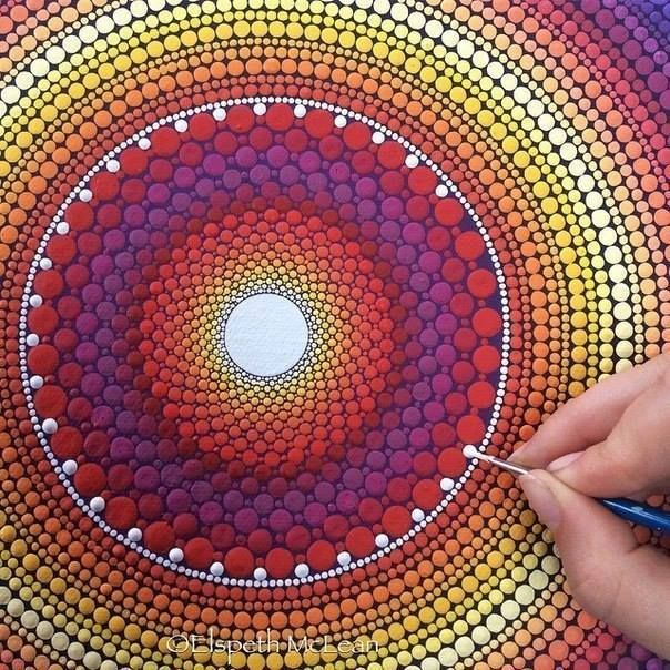 Dotted Paintings