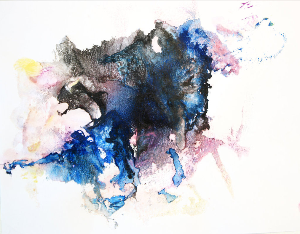 Abstract Watercolour paintings