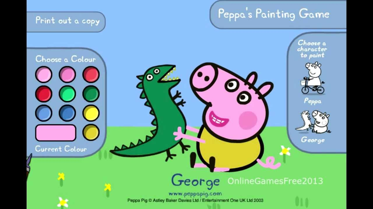 Peppa Pig Paintings