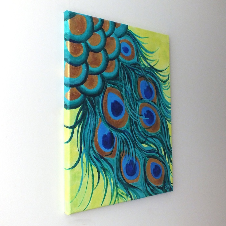 Diy Peacock Paintings