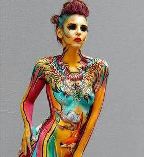 Extreme Body Paintings