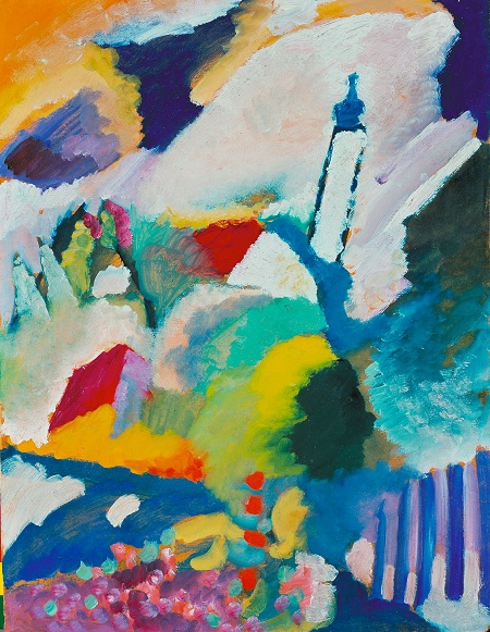 Early Kandinsky Paintings