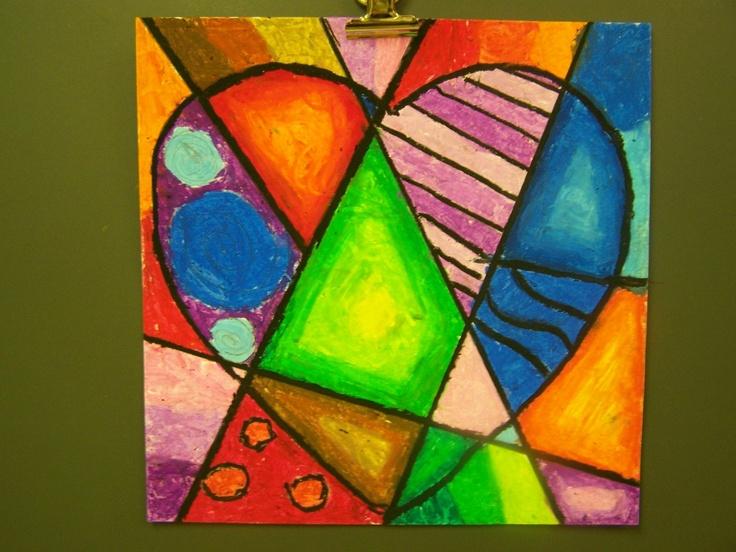 Simple Cubist Paintings