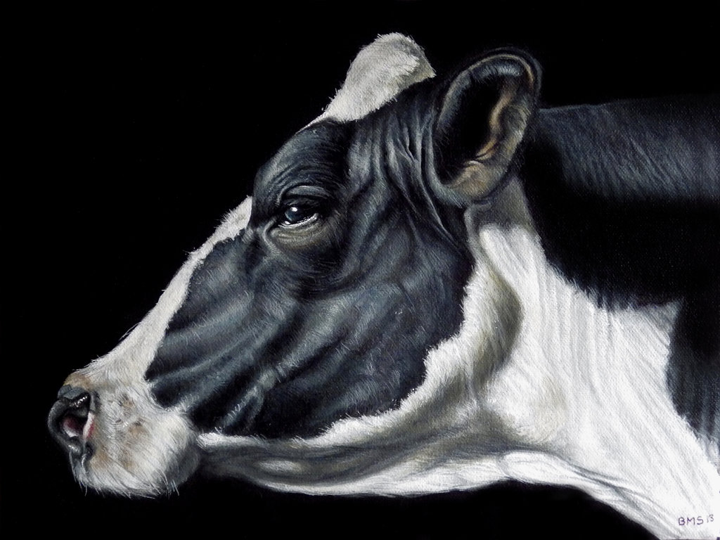 Dairy Cow Paintings