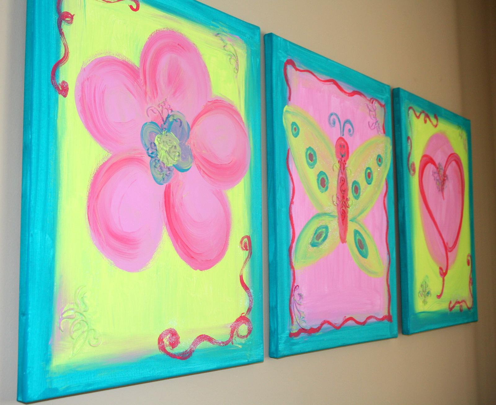 Kids Canvas Paintings