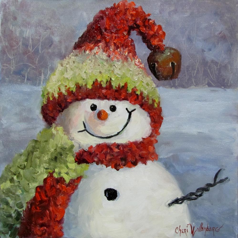 Easy Christmas Paintings.Simple Christmas Paintings