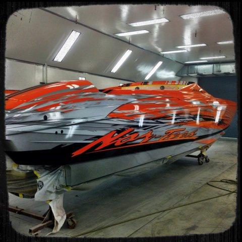 Custom Boat Paintings