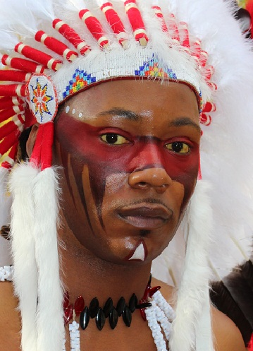 Warrior Face Paintings