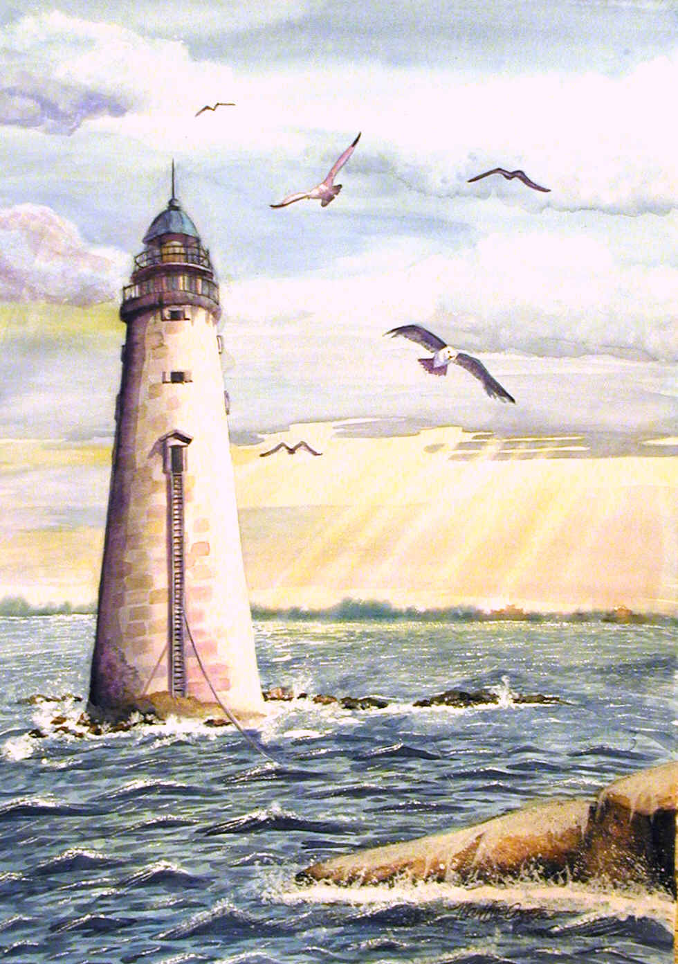 Famous Lighthouse Paintings