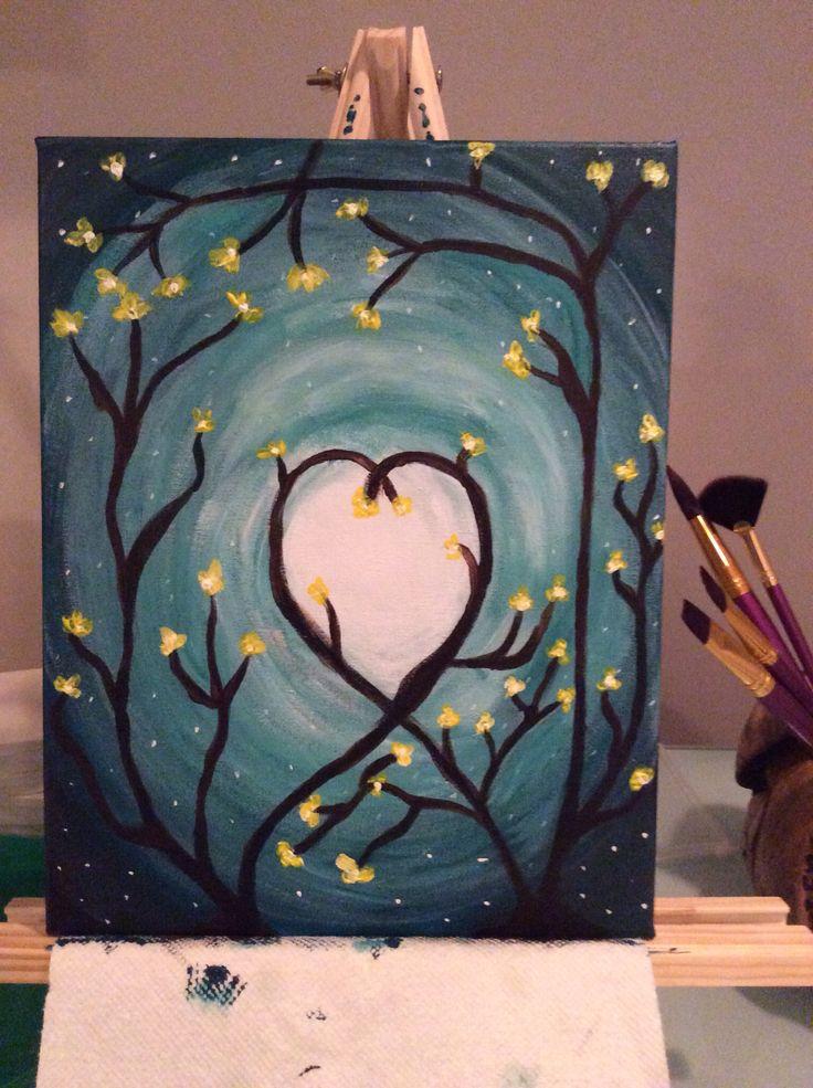Beginner Canvas Paintings