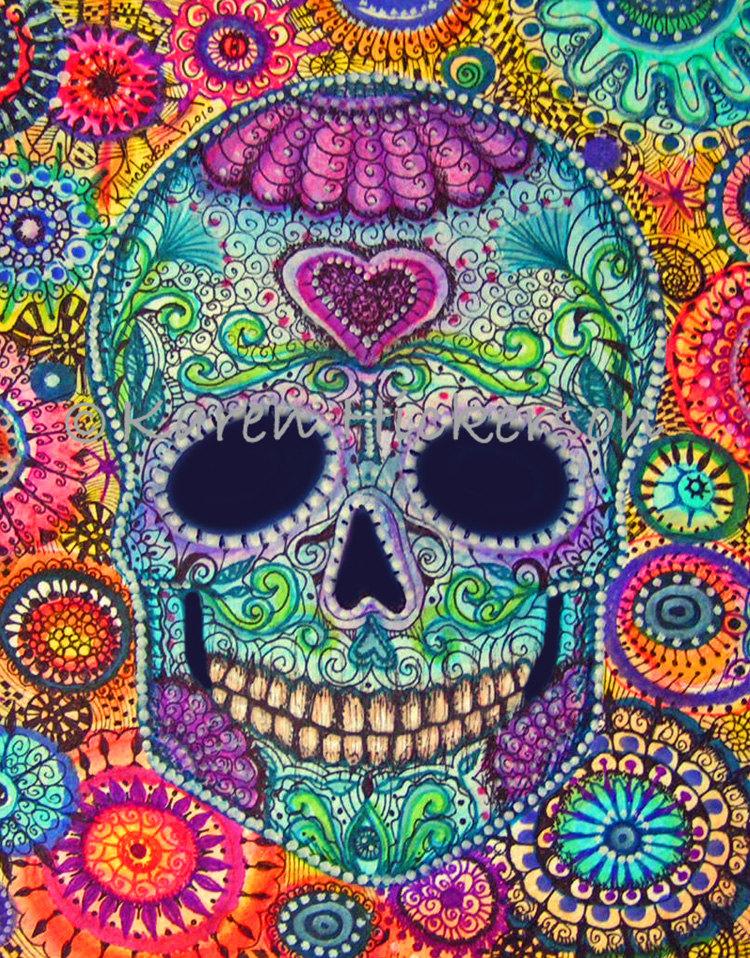 Sugar Skulls Paintings