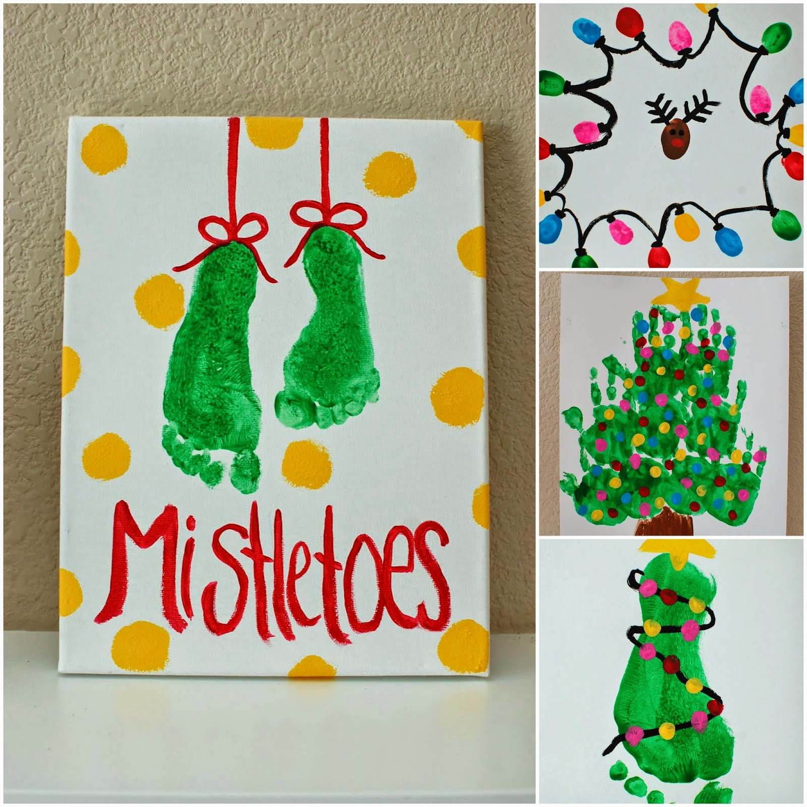 Christmas Paintings For Kids.Kids Christmas Paintings