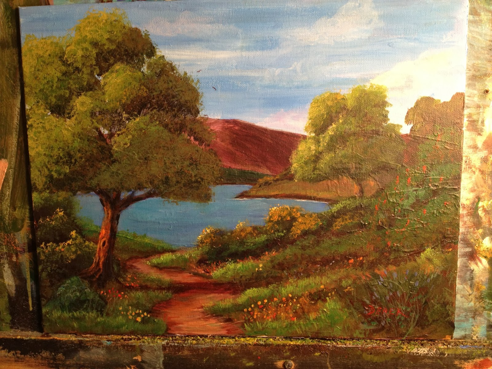 Easy Landscapes Paintings