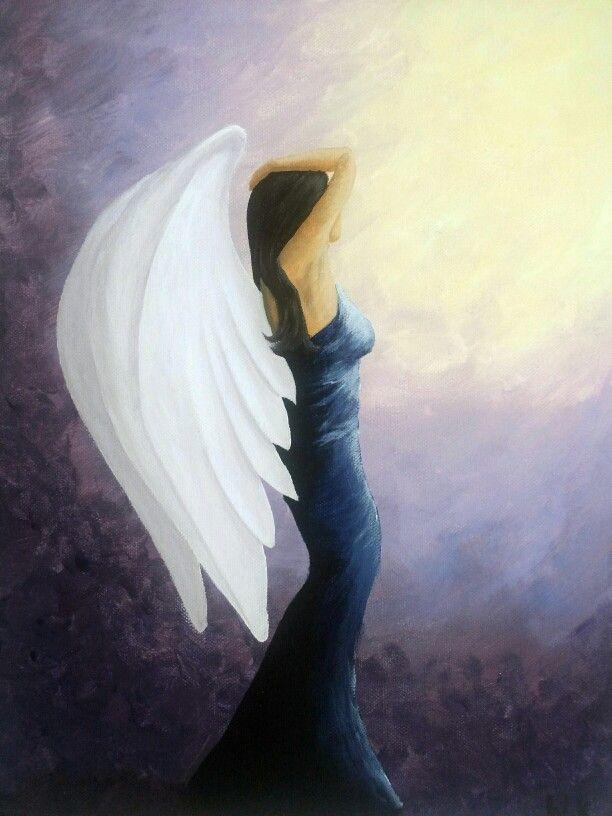 Angel Acrylic Paintings