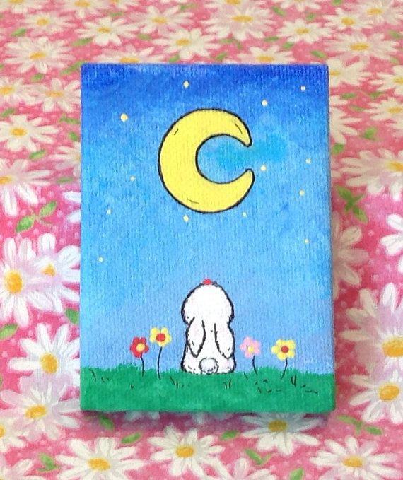 Easy Mini Canvas Paintings