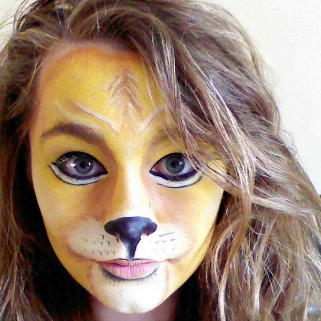 Lion Face Paintings