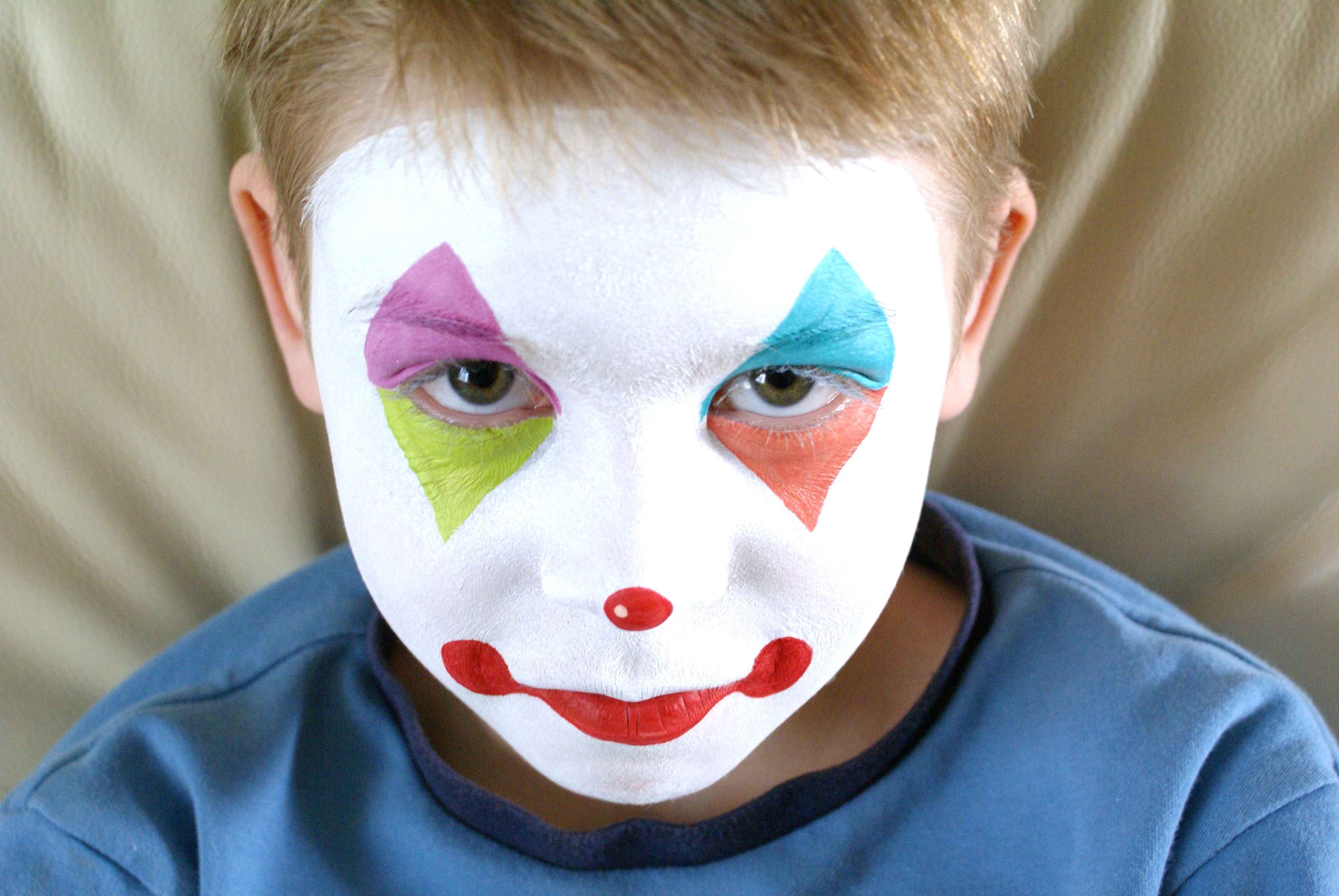 Circus Face Paintings