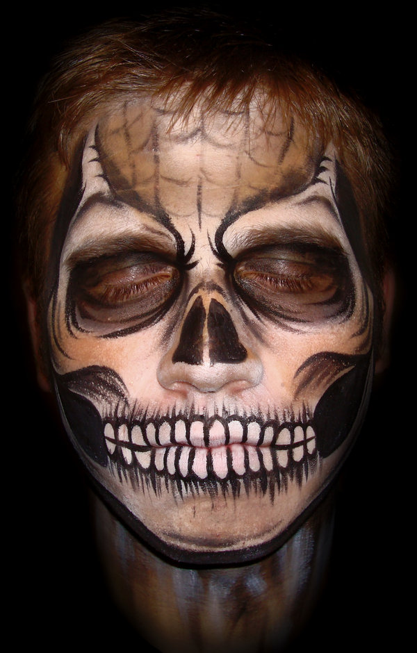 Scary Face Paintings