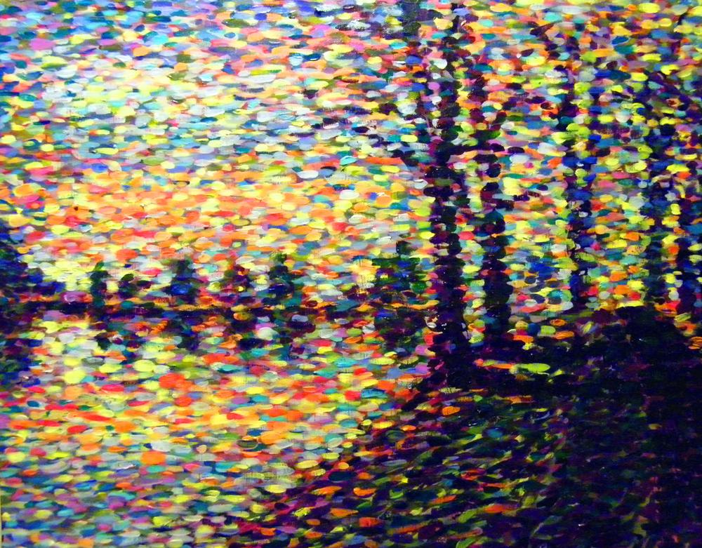 pointillism paintings