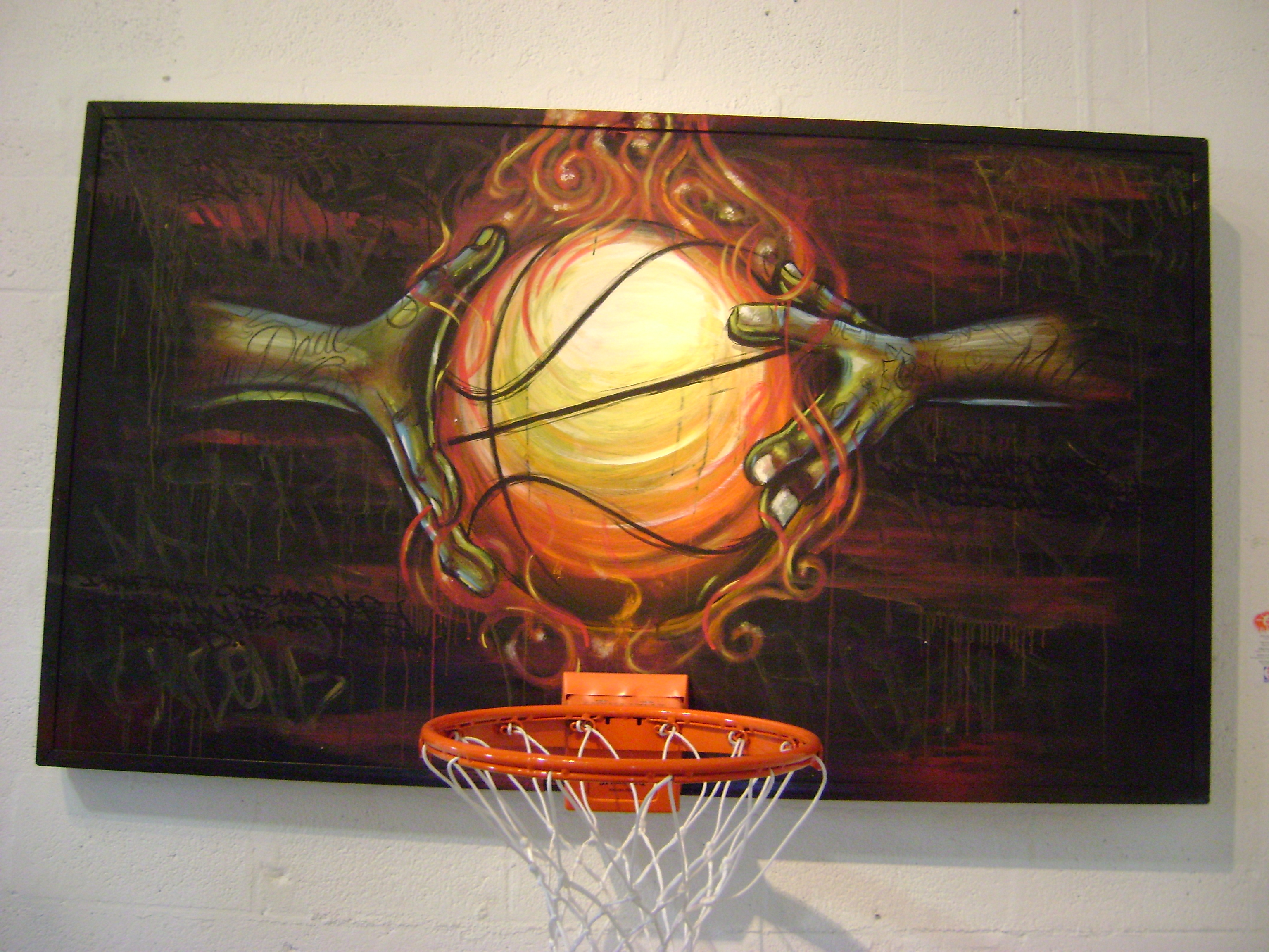 Basketball Paintings