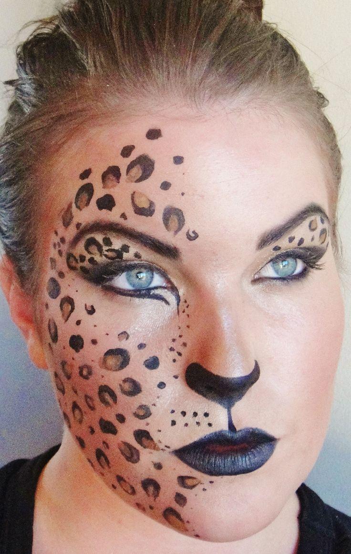 Cheetah Face Paintings